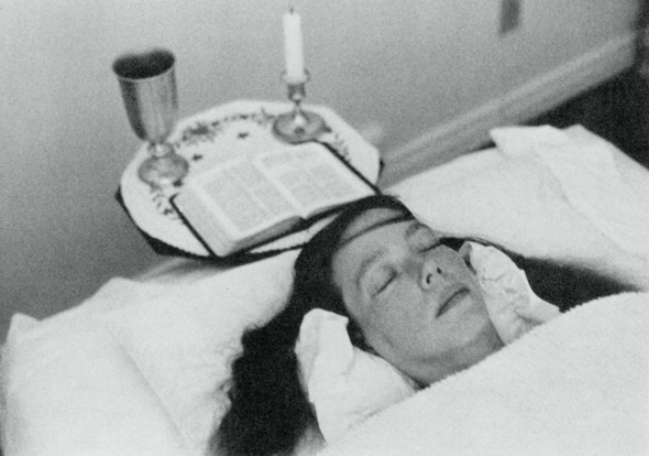 Carla Rueckert after returning to her body following a Law of One channeling session